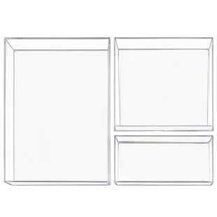 InterDesign 3 Piece Drawer Organizer Set