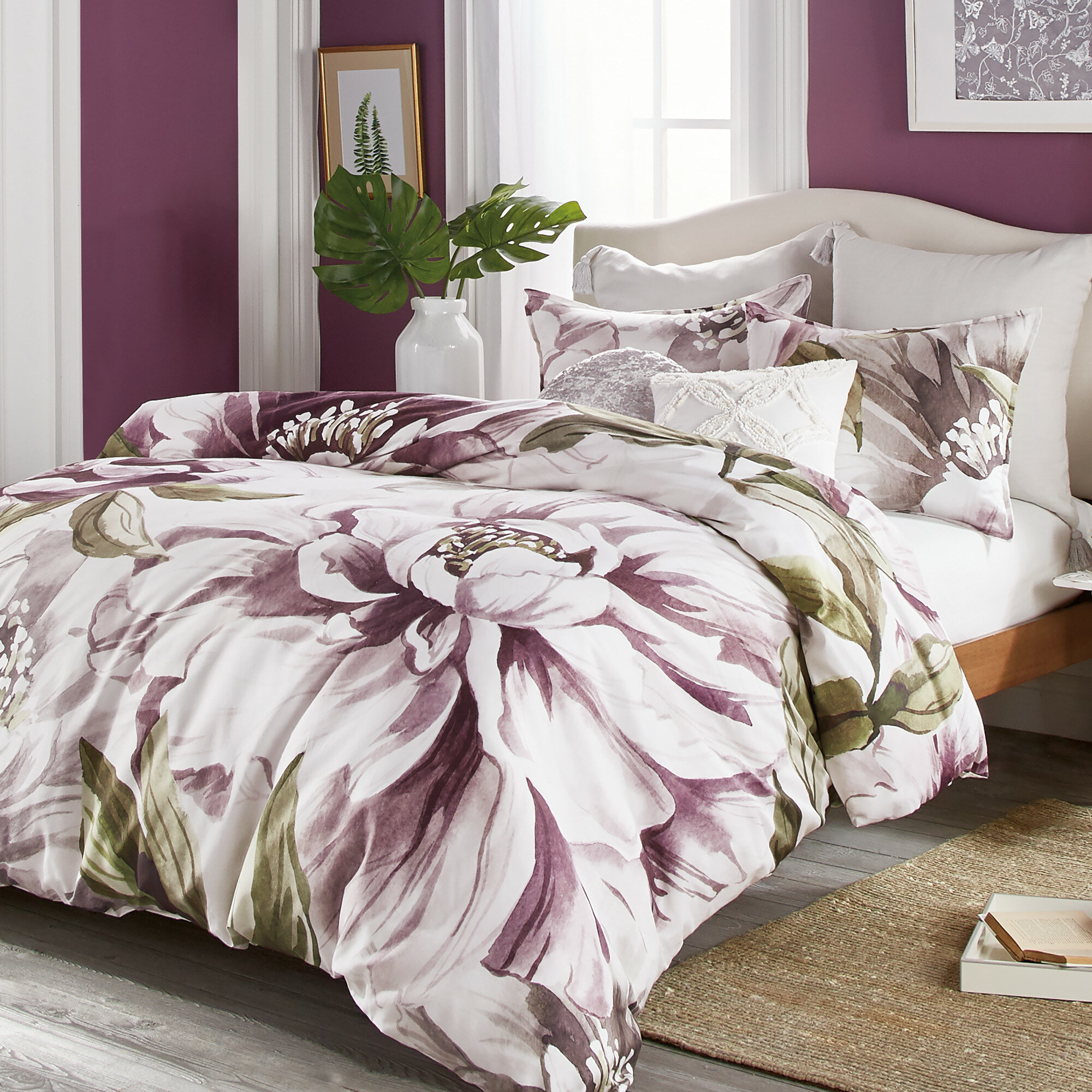 Red Barrel Studio Darielle Floral Comforter Set Wayfair