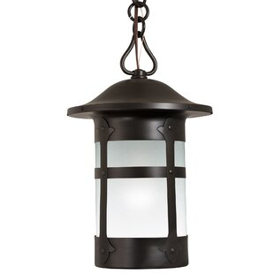 Milo Charming Chain Mount 1-Light Lantern Pendant by Alcott Hill