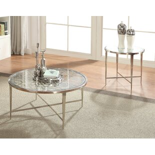 2 Piece Coffee Table Set by HomeRoots Discount