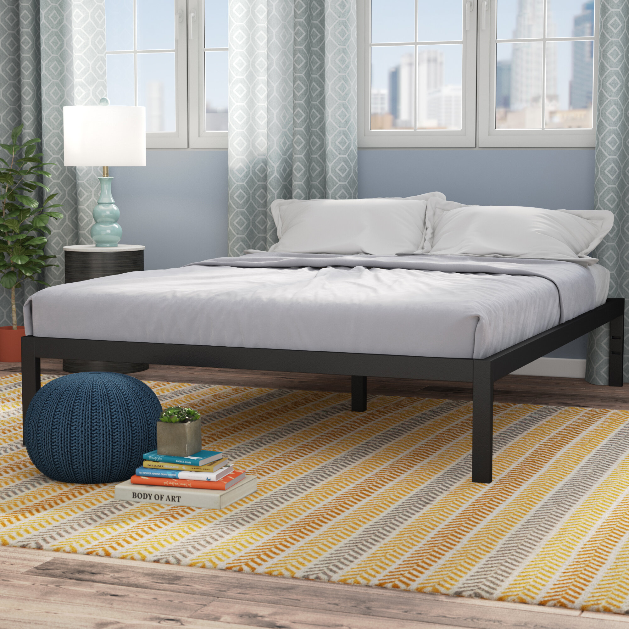 Mercury Row Avey Bed Frame & Reviews | Wayfair