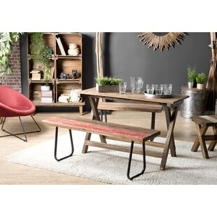 Folding Dining Set With 2 Benches