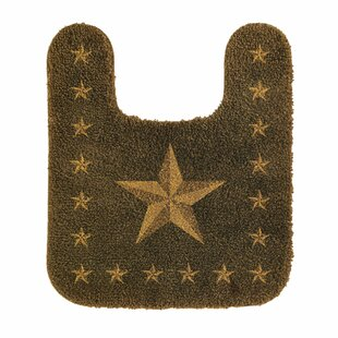 Alexis Star Contour Bath Rug by Loon Peak Looking for