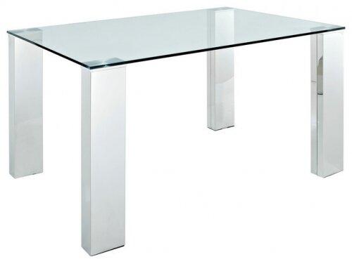 Rectangle Glass Pub Table
