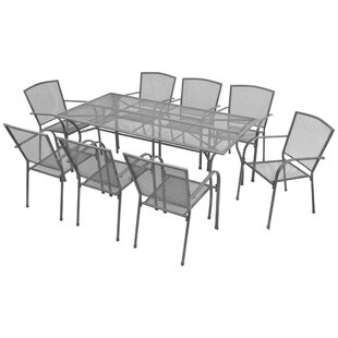 Barcus 8 Seater Dining Set By Sol 72 Outdoor