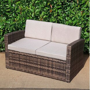 Zayd Patio Loveseat with Cushions