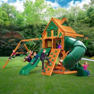Gorilla Playsets Mountaineer Treehouse Swing Set