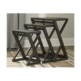 Affordable Price Kapono 3 Piece End Table By Gracie Oaks