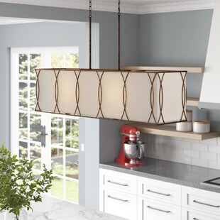 Oswald 4-Light Square/Rectangle Chandelier