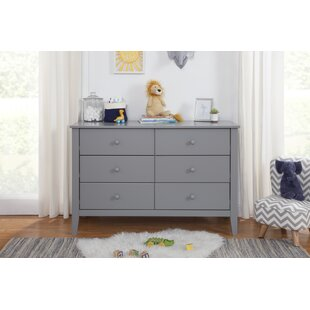Budget Morgan 6 Drawer Double Dresser by Carter's® Reviews (2019) & Buyer's Guide