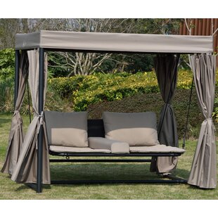 Rosecliff Heights Fay Double Hanging Chaise Lounger