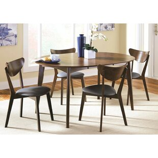 Driffield 5 Piece Extendable Solid Wood Dining Set