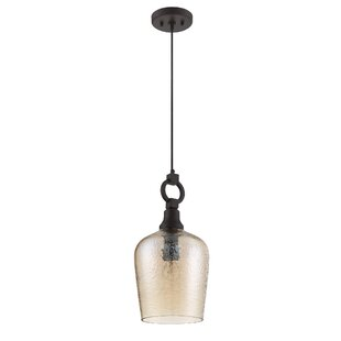 Gracie Oaks Tahir 1-Light Cone Pendant