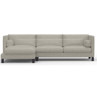 Annabell Left Hand Facing Leather Sectional by Brayden Studio SKU:BE576626 Description