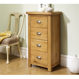 Antonio 4 Drawer Chest By Gracie Oaks