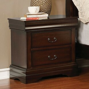 Darby Home Co Louann 2 Drawer Nightstand