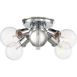 Tamiko 4-Light Semi Flush Mount