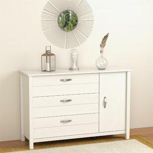 Mikel 3 Drawer Dresser by Viv + Rae
