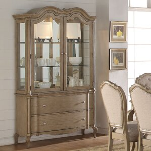 Donatella Lighted China Cabinet by One Al..