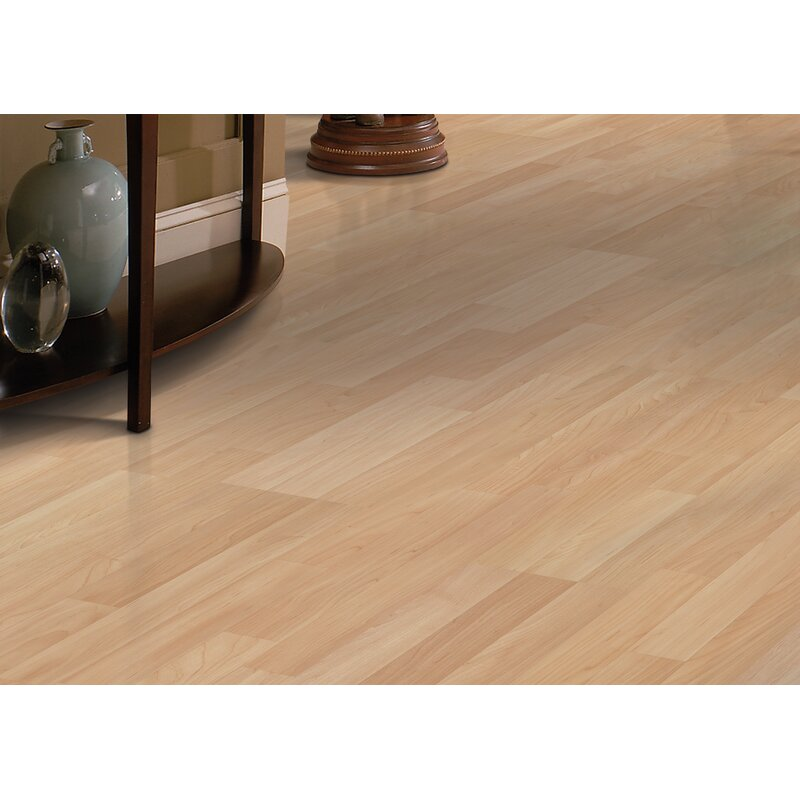Copeland 8 X 47 8mm Oak Laminate Flooring In Natural Maple
