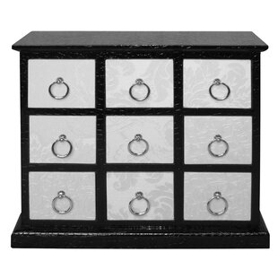 Distefano 9 Drawer Chest By World Menagerie