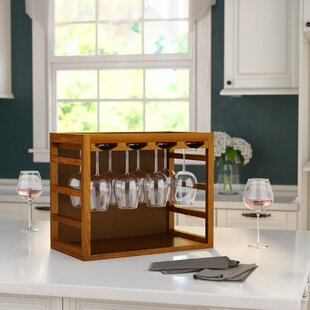 Ellie Tabletop Wine Glass Rack by Andover Mills