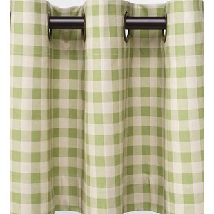 Check Plaid Green Curtains Drapes Youll Love