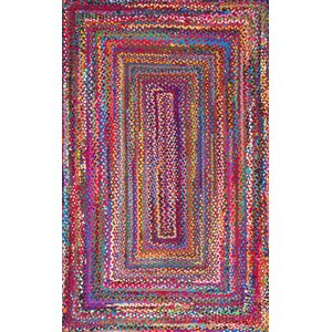 Khan Hand-Braided Multi Area Rug