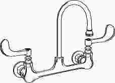 Premier Faucet Lead Free Hospital Sink Faucet
