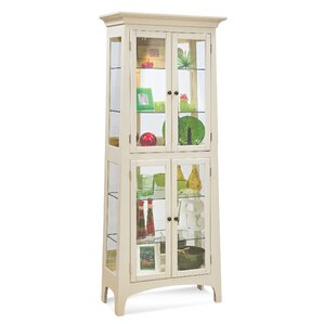 Lancaster II Lighted Curio Cabinet by Phi..