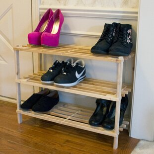 Affordable Price 3-Tier 9 Pair Shoe Rack By Lavish Home