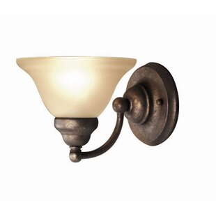 Dunwich 1-Light Bath Sconce by Fleur De Lis Living