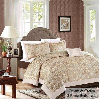 Tagesdecken-Set Beams mit Kissen   Heimtextilien > Decken und Kissen > Tagesdecken und Bettüberwürfe   Astoria Grand