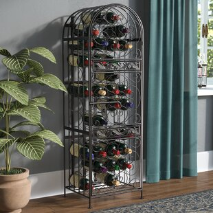 Cutshall 45 Bottle Floor Wine Rack