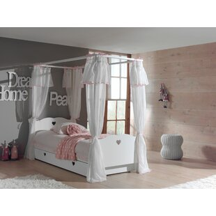Aldridge European Single Four Poster Bed By Harriet Bee