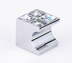Swarovski Crystal Cubes Novelty Knob by Alno Inc