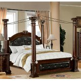 Golightly Upholstered Canopy Bed by Astoria Grand