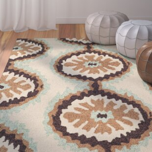 Puri Beige/Green Indoor/Outdoor Area Rug