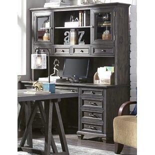 Altenburg Executive Desk with Hutch by Greyleigh