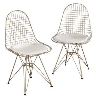 Merrie Wire Upholstered Dining Chair (Set..