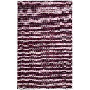 Calgary Handmade Kilim Cotton Purple Rug by Bakero