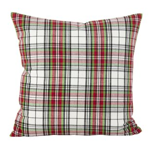 Alondra Classic Tartan Plaid Print Cotton Throw Pillow