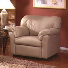 Tahoe Leather Club Chair by Omnia Leather