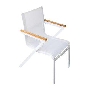 Anoki Stacking Garden Chair By Ebern Designs