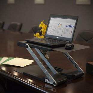 Hassett Height Adjustable Standing Desk Converter