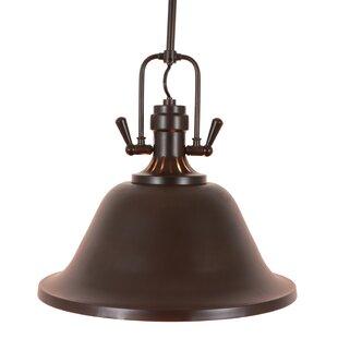 Williston Forge Bolding Classic 2-Light Bell Pendant