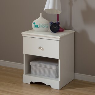 Crystal 1 Drawer Nightstand BySouth Shore
