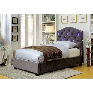 Soham Upholstered Panel Bed by Everly Quinn