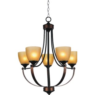 CWI Lighting Solis 5-Light Shaded Chandelier