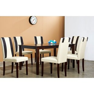 Savana 7 Piece Solid Wood Dining Set by W..